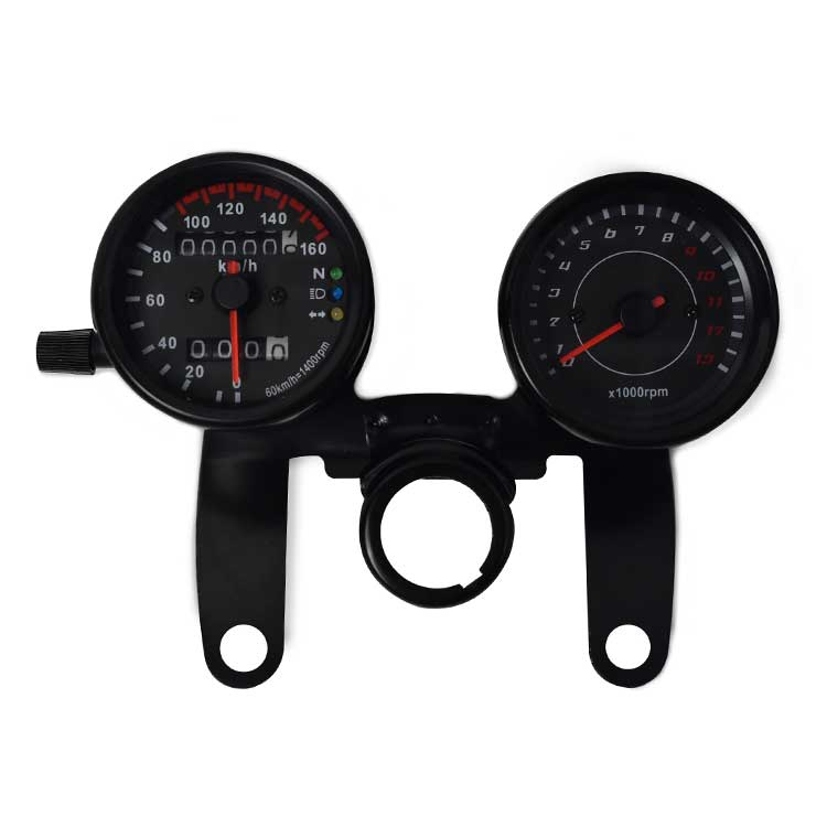 Mechanical Speedometer + Tachometer Assembly