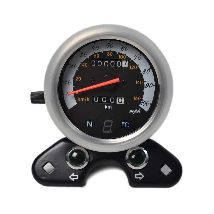 Mechanical 0-160km/h Speedometer Gear Indicator