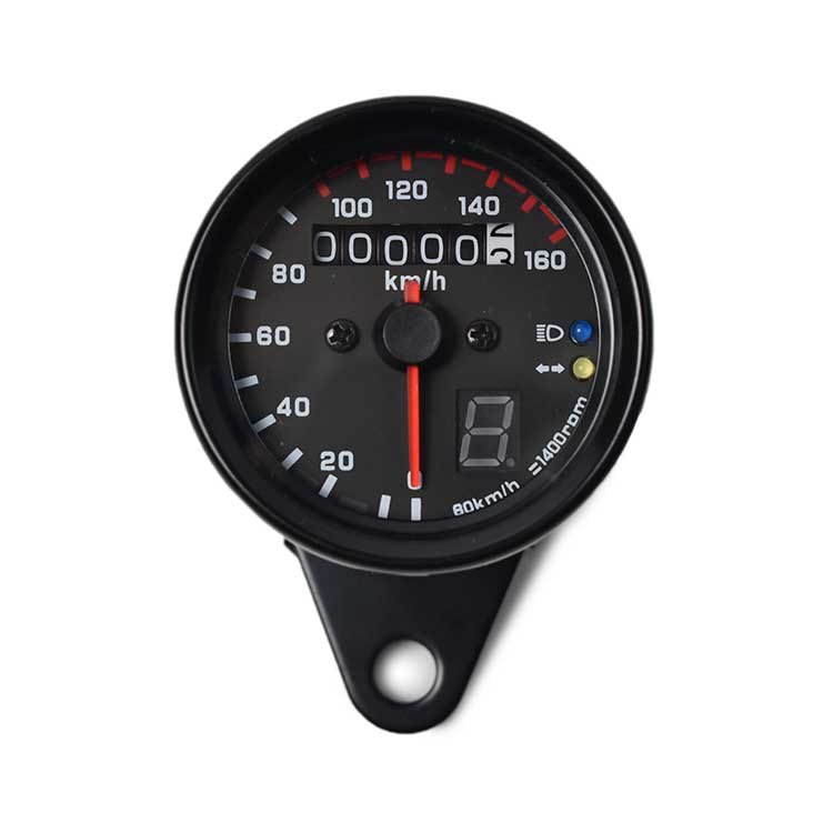 Mechanical 160kmh Speedometer Gear Displayer